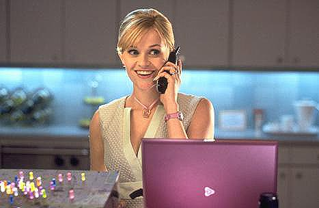 Reese Whiterspoon w Legalnej Blondynce II