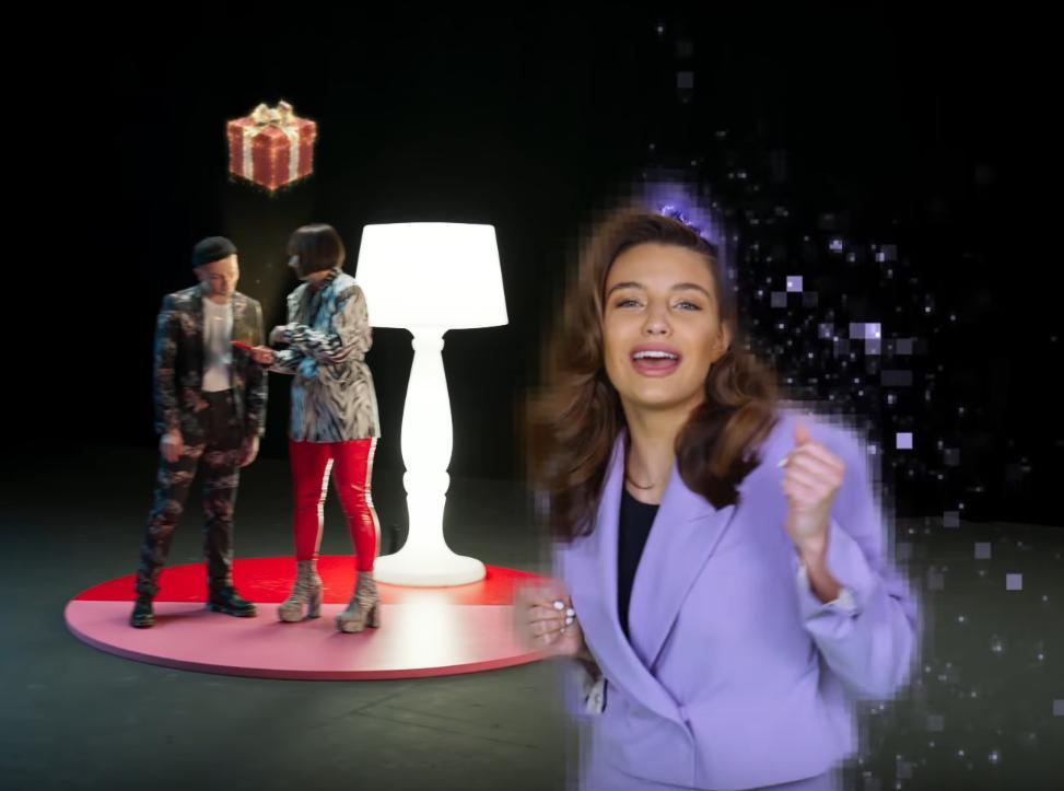 Julia Wieniawa w reklamie Allegro