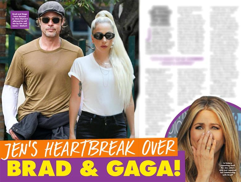 Brad Pitt i Lady Gaga mają romans?