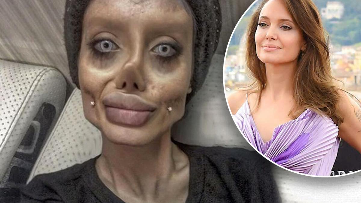 Angelina Jolie zombie