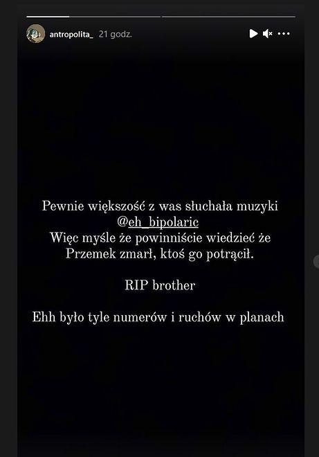 Bipolar nie żyje