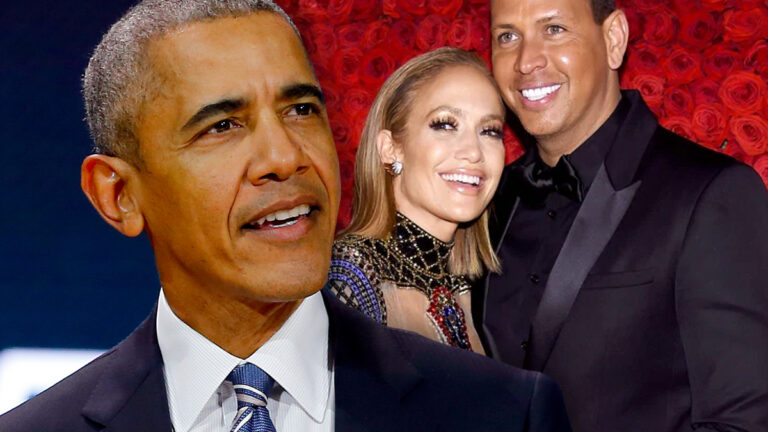Barack Obama, Jennifer Lopez, Alex Rodriguez