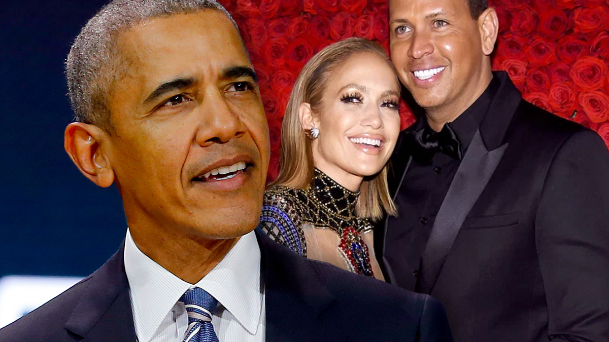 Barack Obama, Jennifer Lopez, Alex Rodriguez