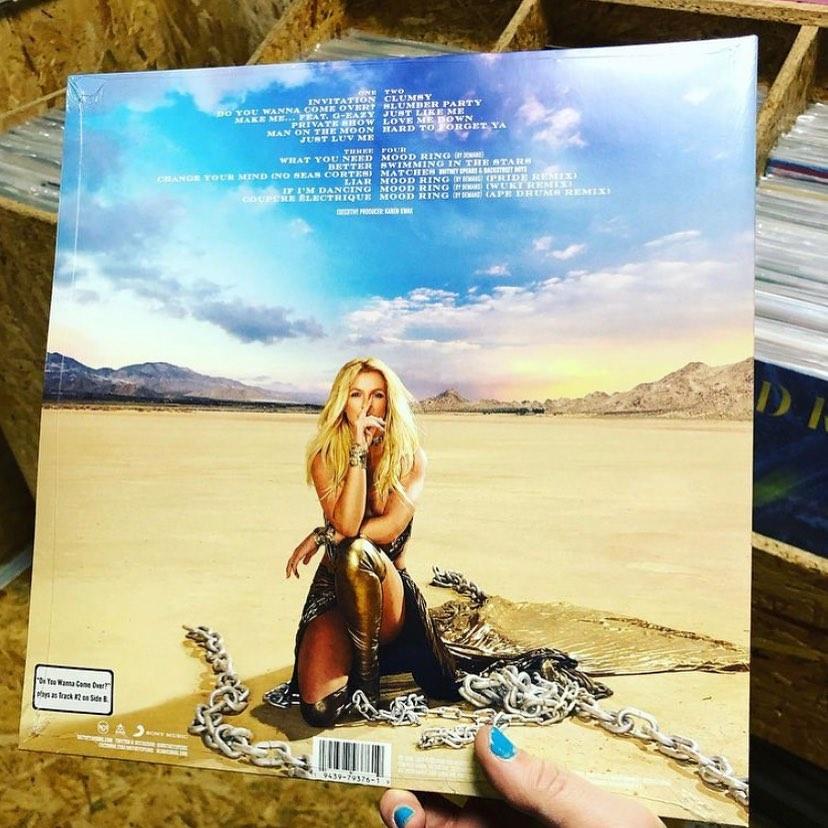 Britney Spears – Glory reedycja