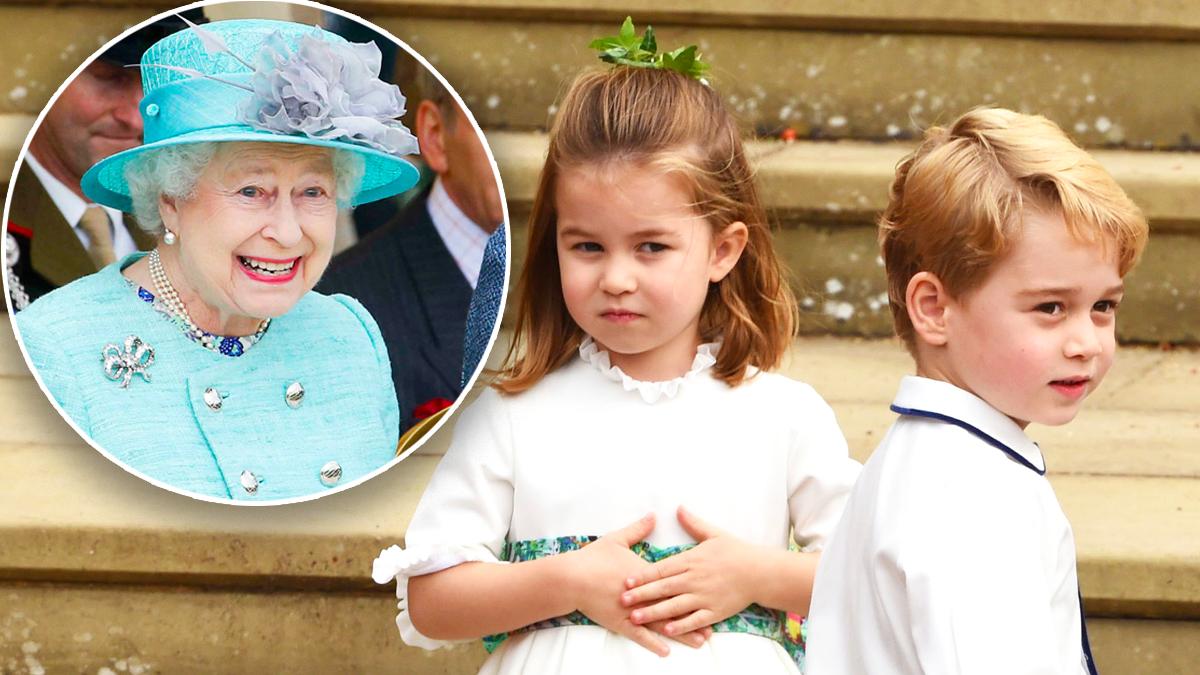 Królowa Elżbieta II, George, Charlotte
