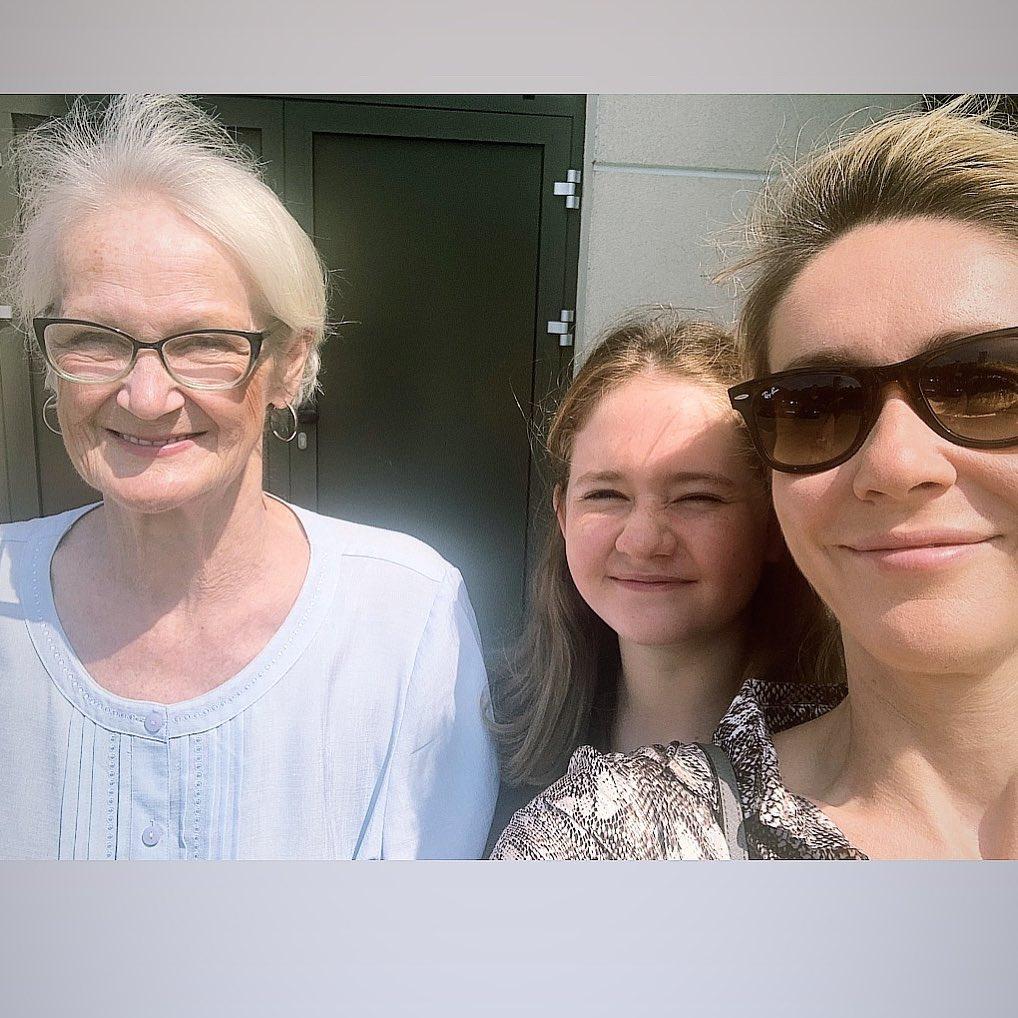 Małgorzata Ohme pożegnała mamę