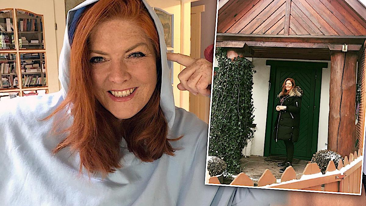 Jak mieszka Katarzyna Dowbor?