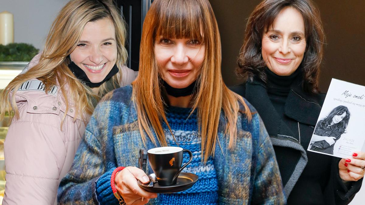 Gwiazdy na otwarciu kawiarni