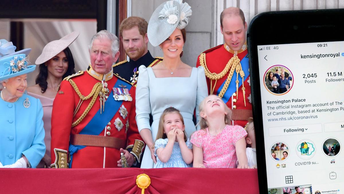 Najpopularniejsze zdjęcia rodziny królewskiej na Instagramie