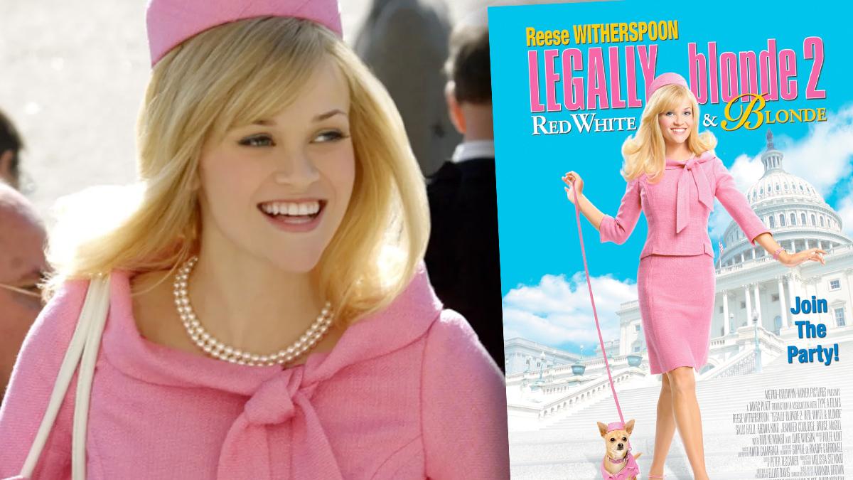 Reese Witherspoon jako Legalna blondynka