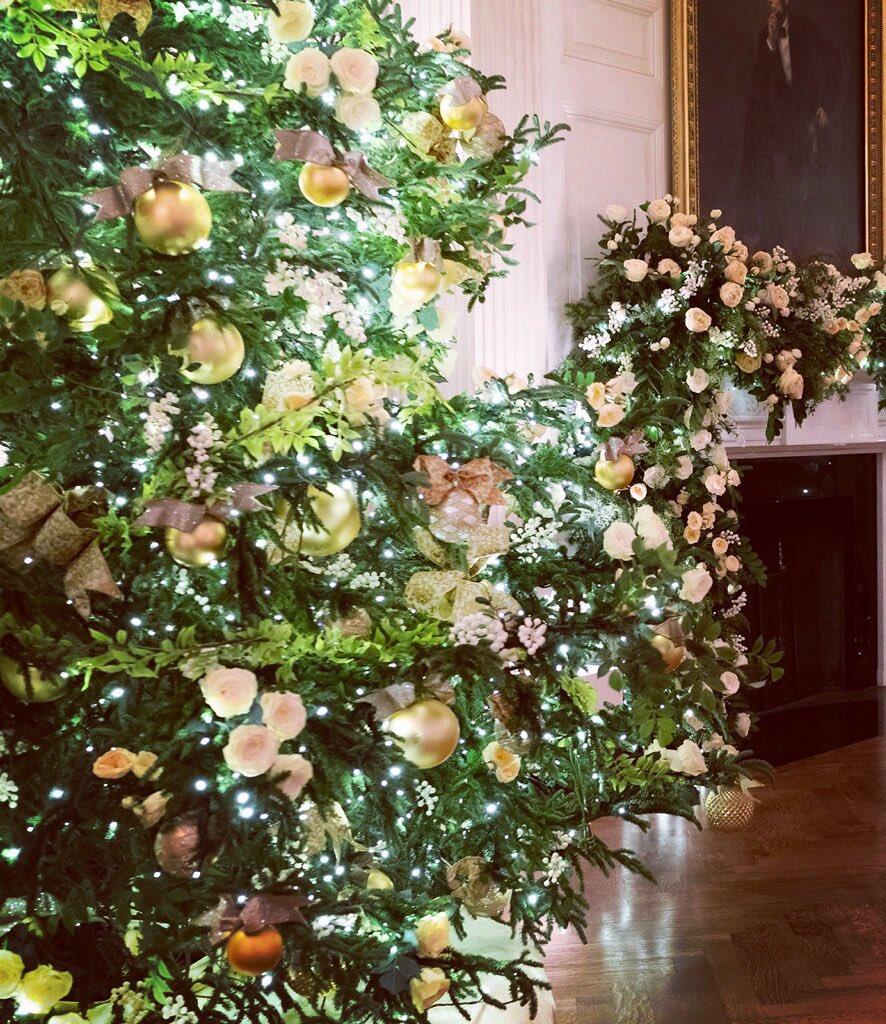 Melania Trump pochwaliła się świątecznymi dekoracjami