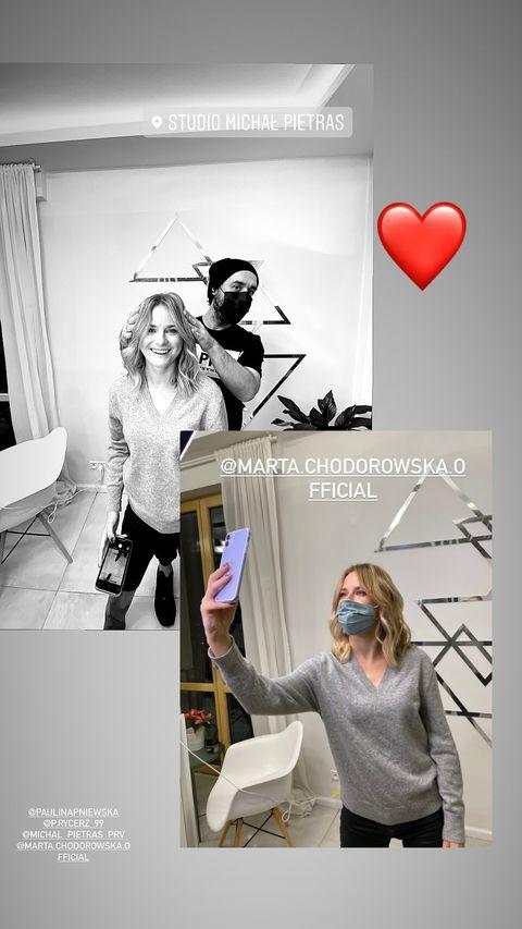 Marta Chodorowska z Rancza zmieniła fryzurę