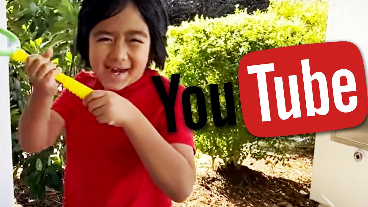 Ryan Kaji najlepiej zarabiającą gwiazdą YouTube