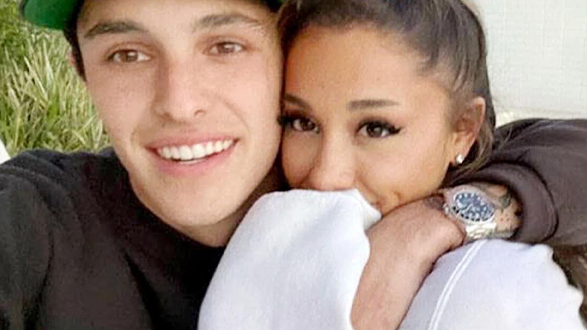 Ariana Grande z narzeczonym
