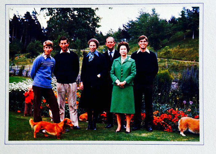 Rodzina królewska w 1979 roku