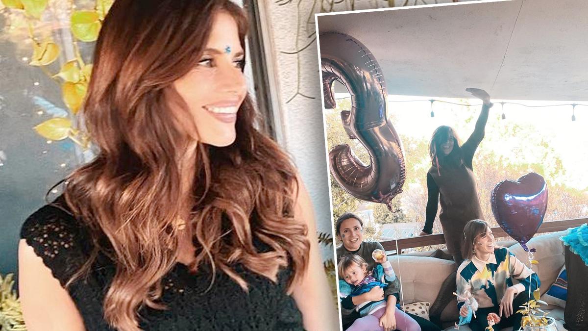 Weronika Rosati urodziny córki