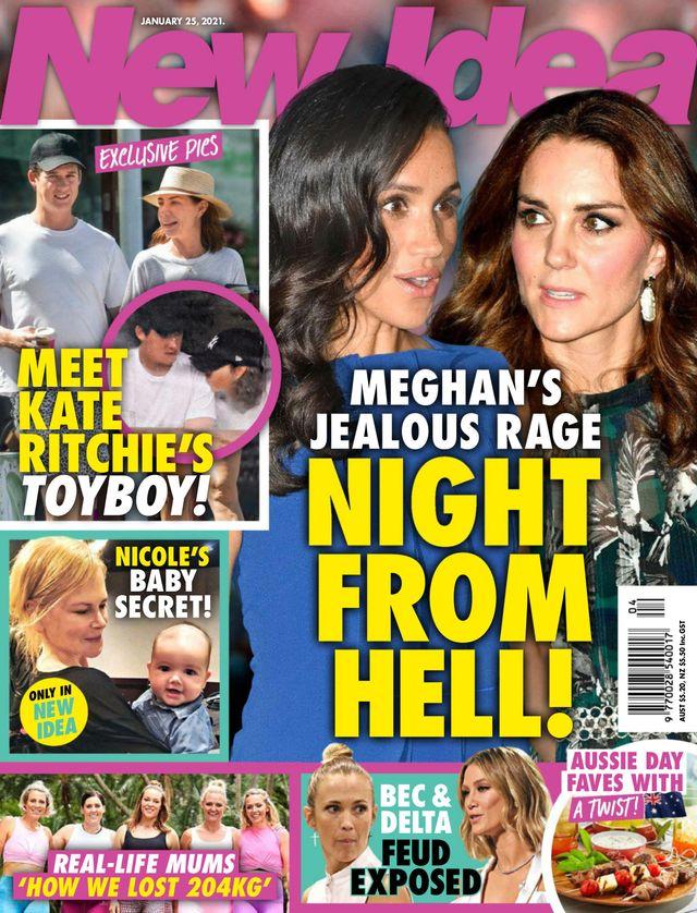 Meghan i Kate na okładce New Idea