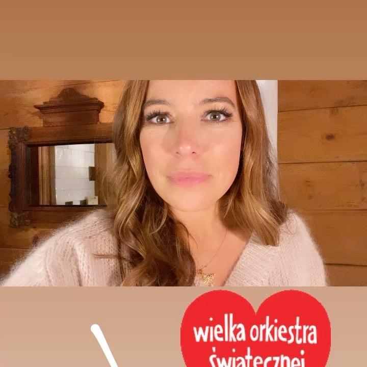 Anna Mucha wspiera WOŚP 2021