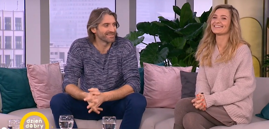 Maciej Dowbor i Joanna Koroniewska w DDTVN