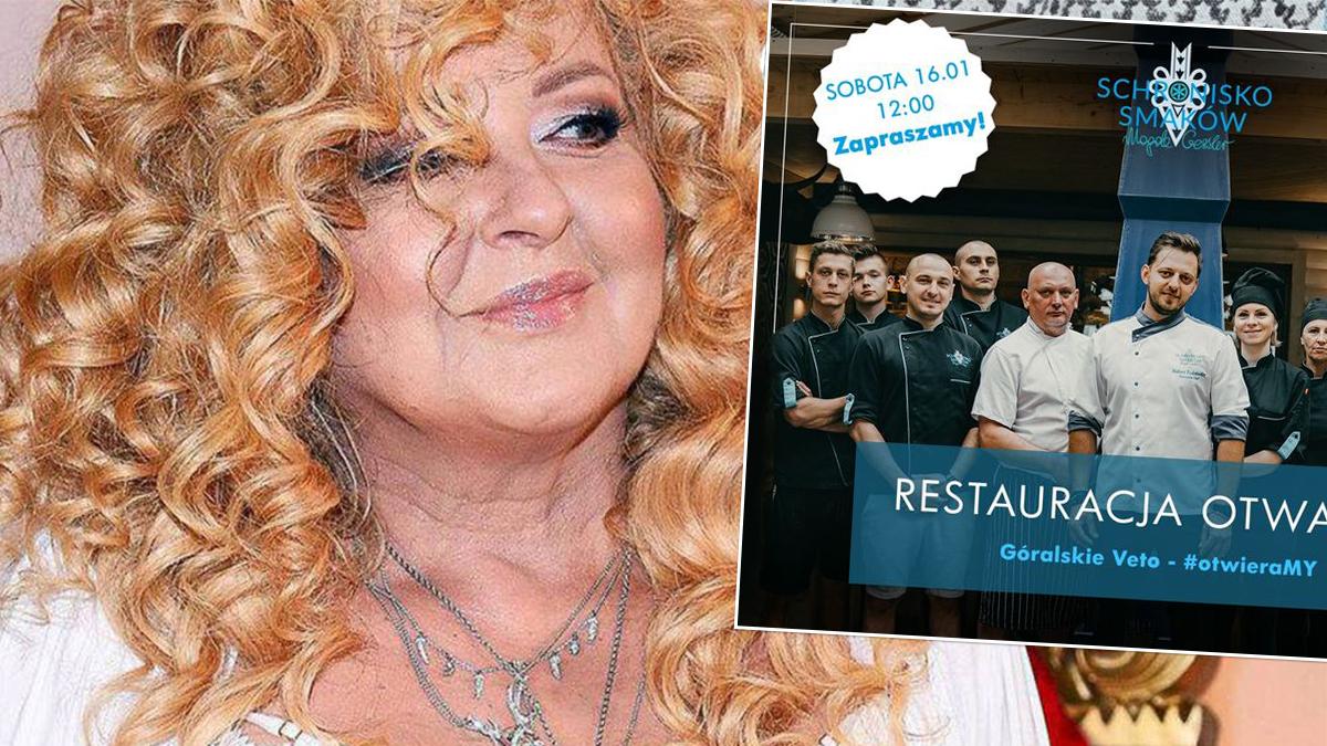 Magda Gessler otwiera restaurację