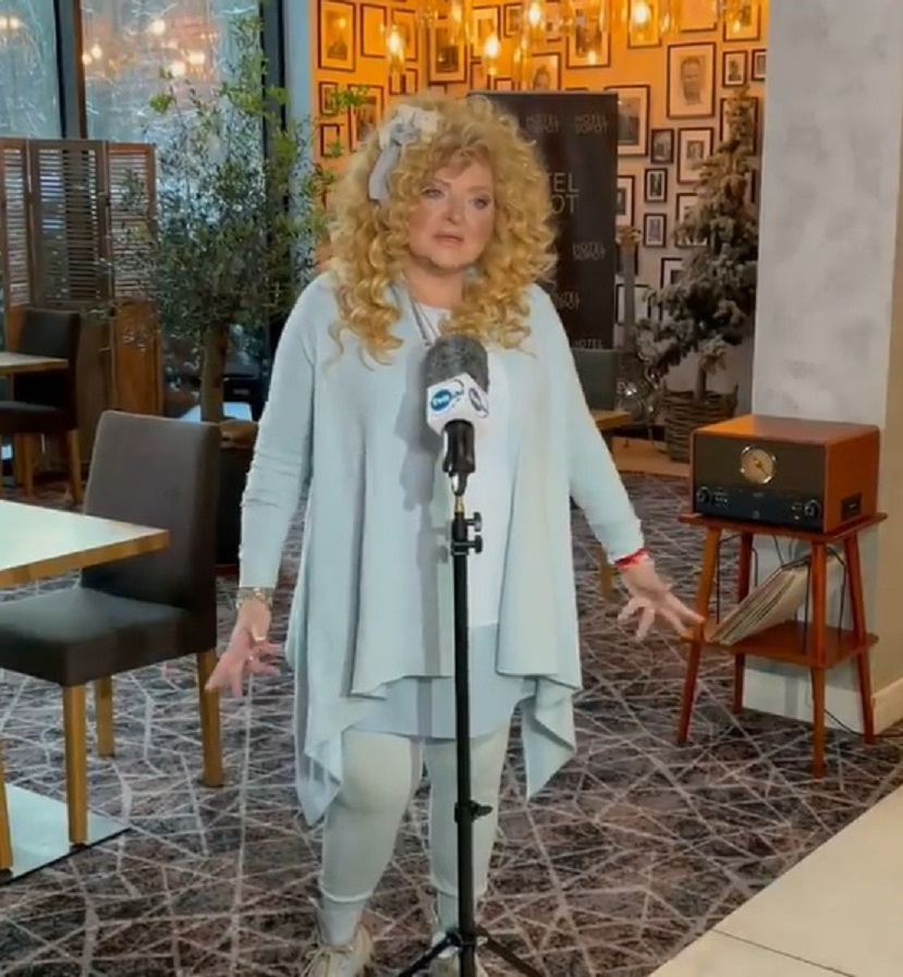 Magda Gessler wypowiedź dla TVN 24