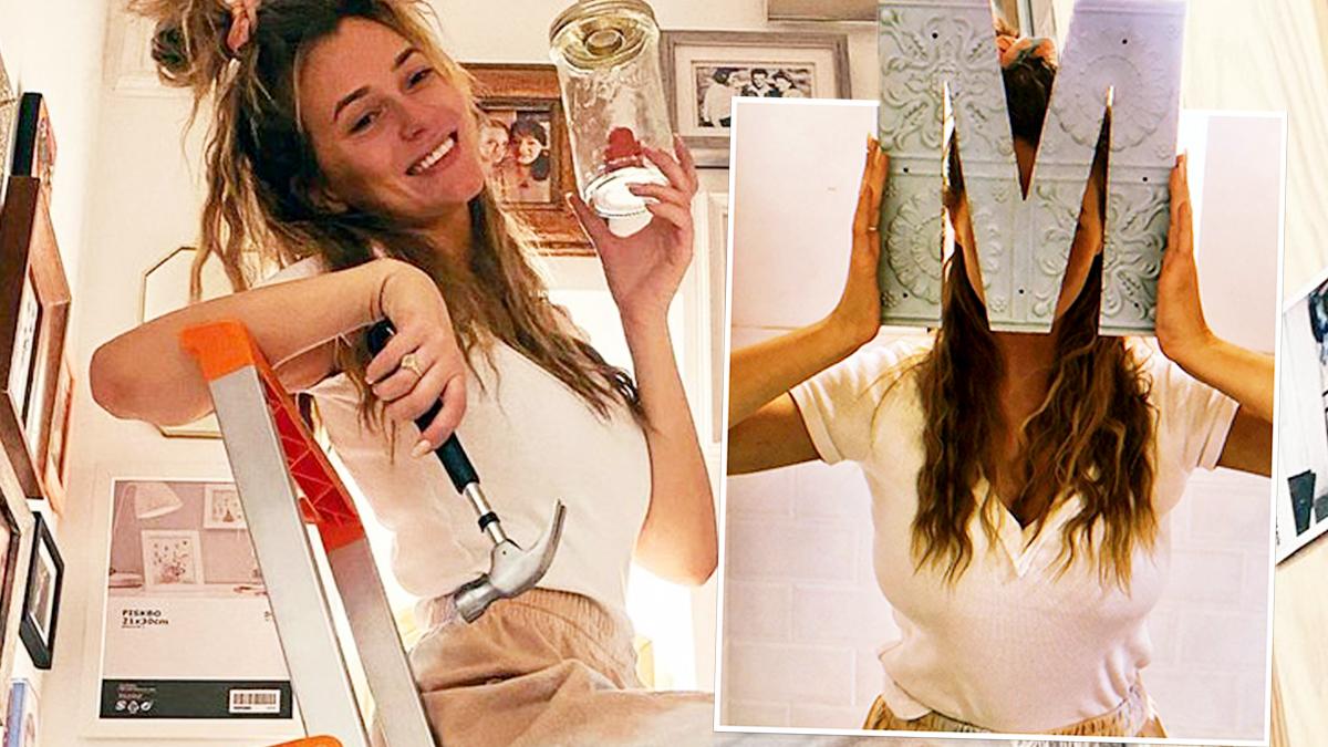 Marcelina Zawadzka - dekoruje toaletę