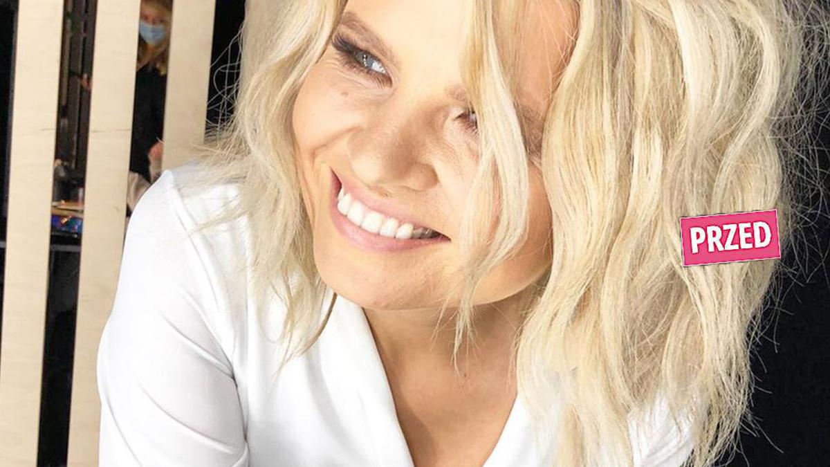 Marta Manowska - fryzura