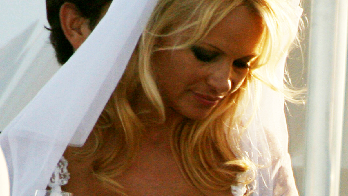 Pamela Anderson - ślub