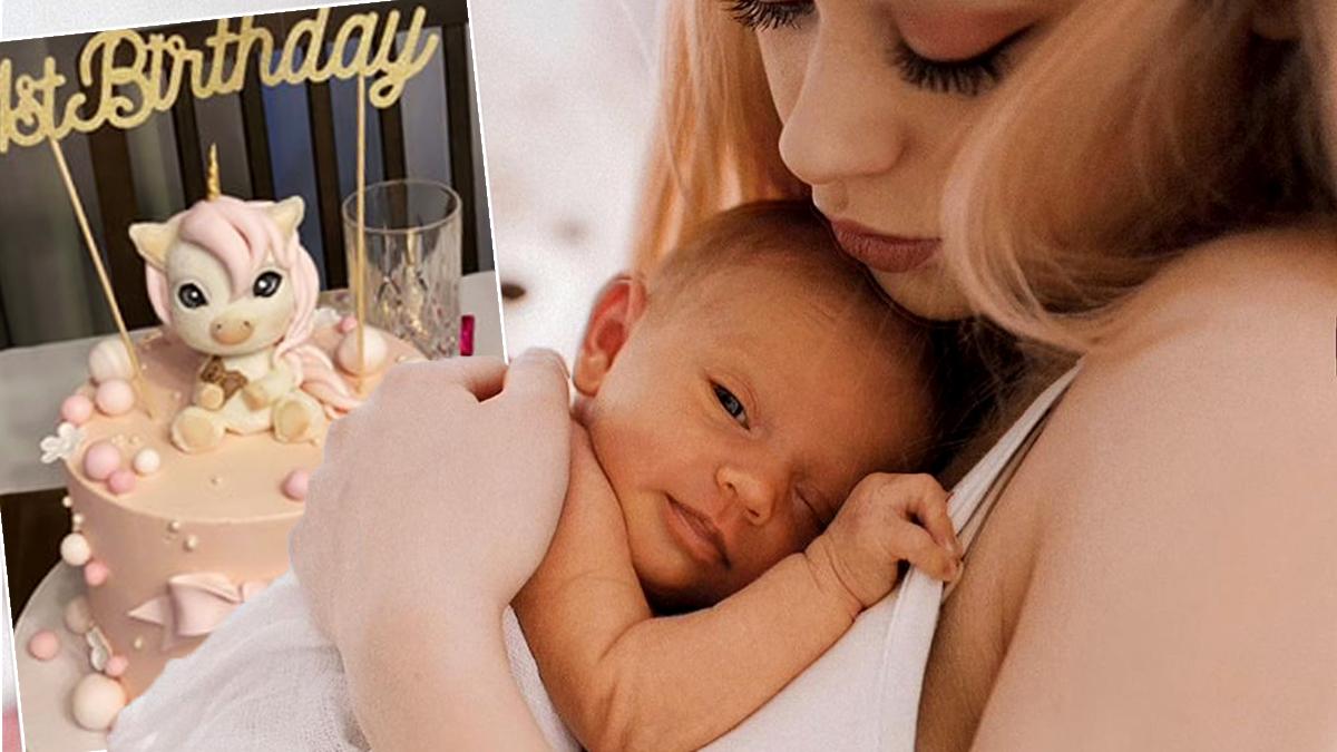 Sylwia Przybysz - urodziny córki