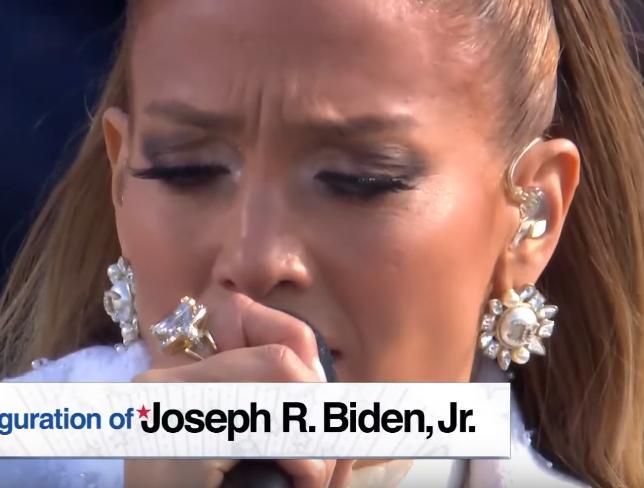 Jennifer Lopez zrzut ekranu 2021-01-20