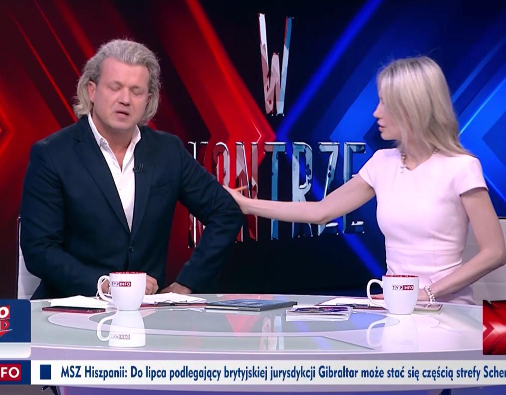 Jarosław Jakimowicz płacze – oświadczenie w TVP Info