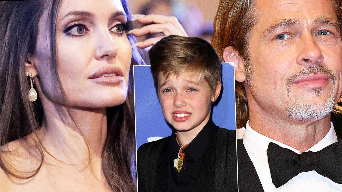 Angelina Jolie, Brad Pitt i Shiloh Jolie-Pitt