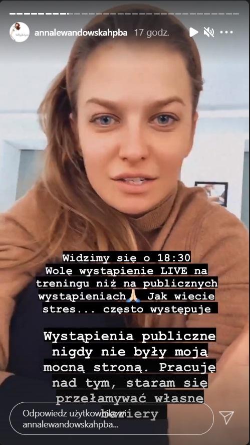 Anna Lewandowska wpadka na gali