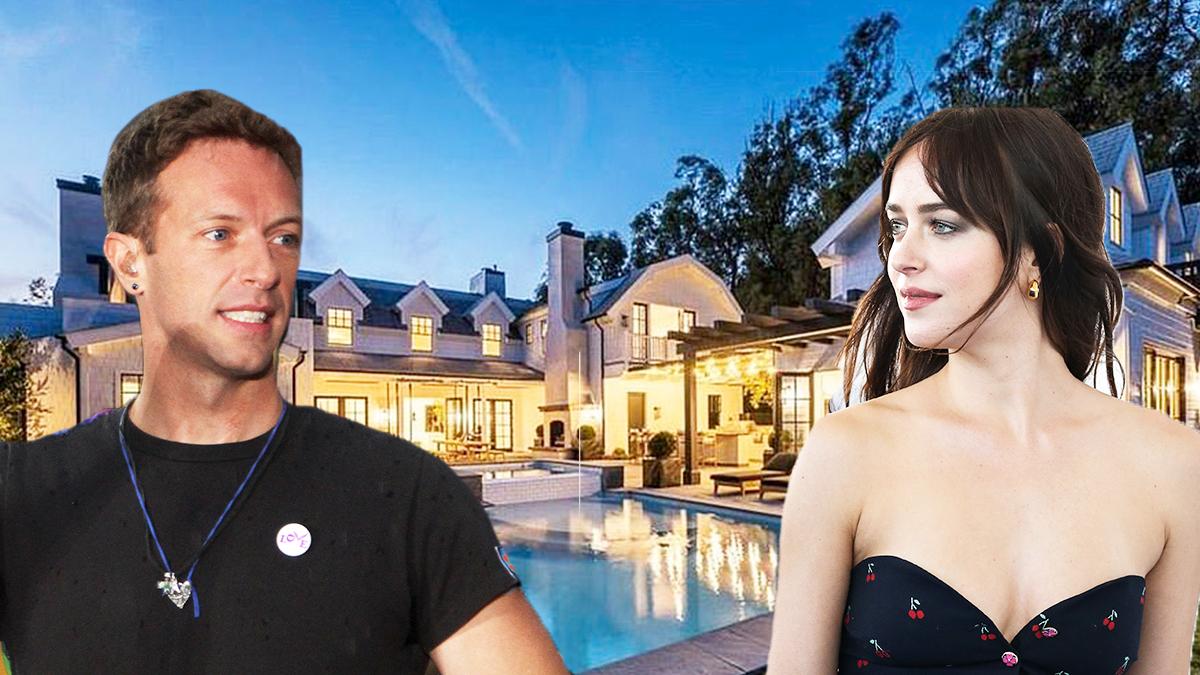 Chris Martin i Dakota Johnson posiadłość