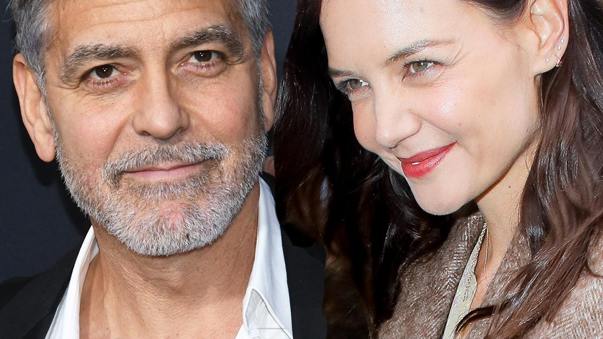 Katie Holmes i George Clooney