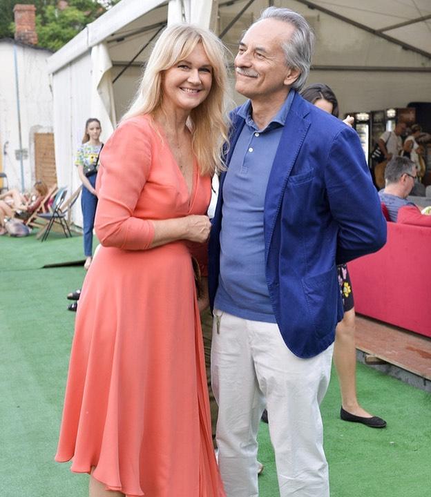 Grażyna Torbicka z mężem Andrzejem