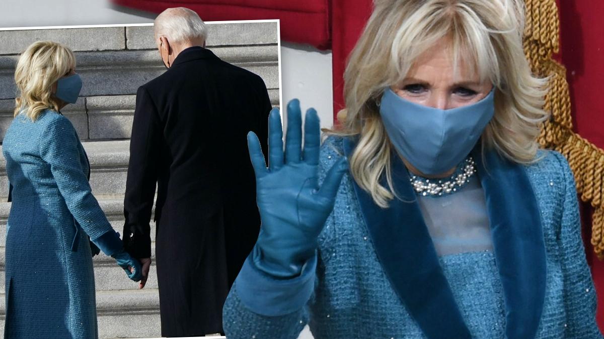 Jill i Joe Biden – zaprzysiężenie