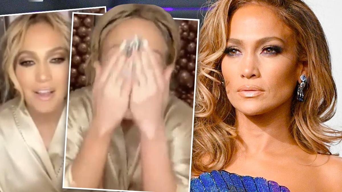 Jennifer Lopez zmyła makijaż