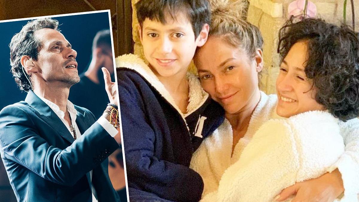 Jennifer Lopez z dziećmi, Marc Anthony