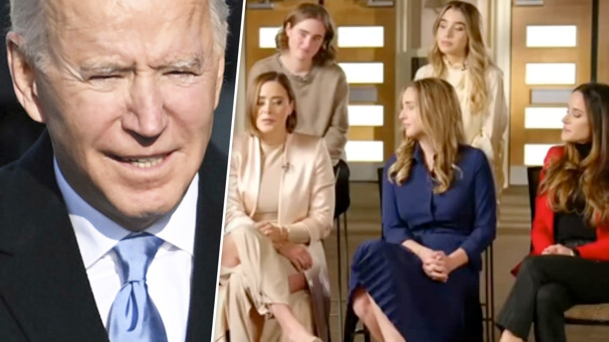 Joe Biden – córka i wnuczki w Today Show