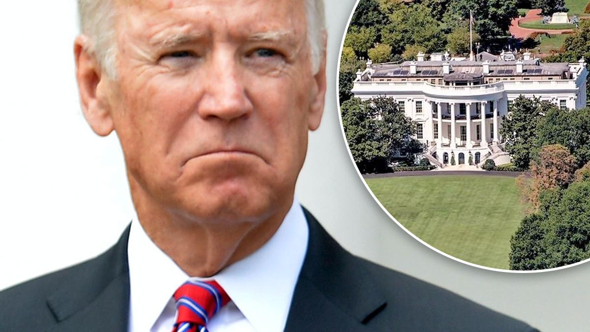 Joe Biden, Biały Dom