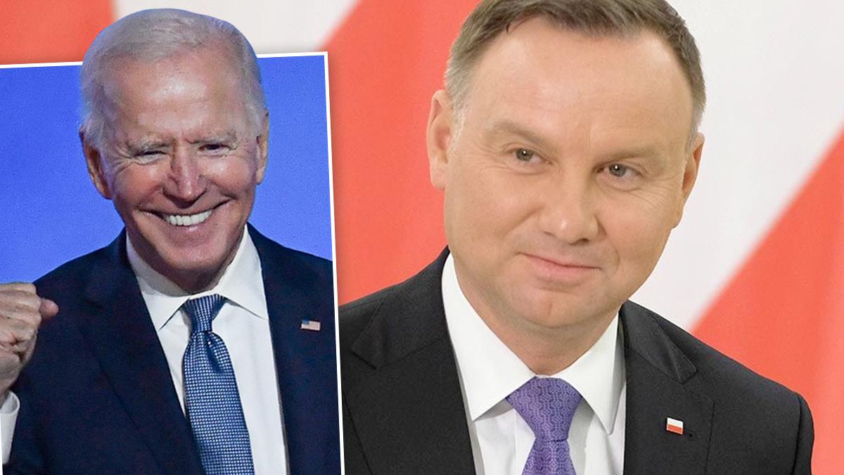 Joe Biden, Andrzej Duda
