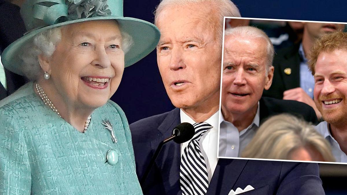 Joe Biden, królowa, Harry