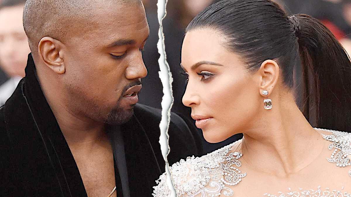 Kim Kardashian i Kanye West się rozwodzą