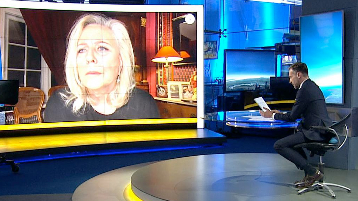 Krystyna Janda popłakała się w TVN