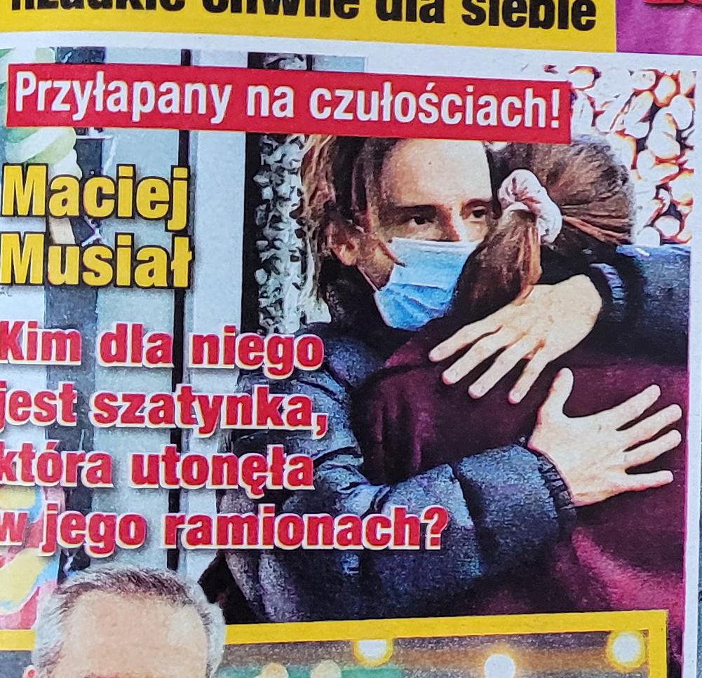 Maciej Musiał trafił na okładkę gazety