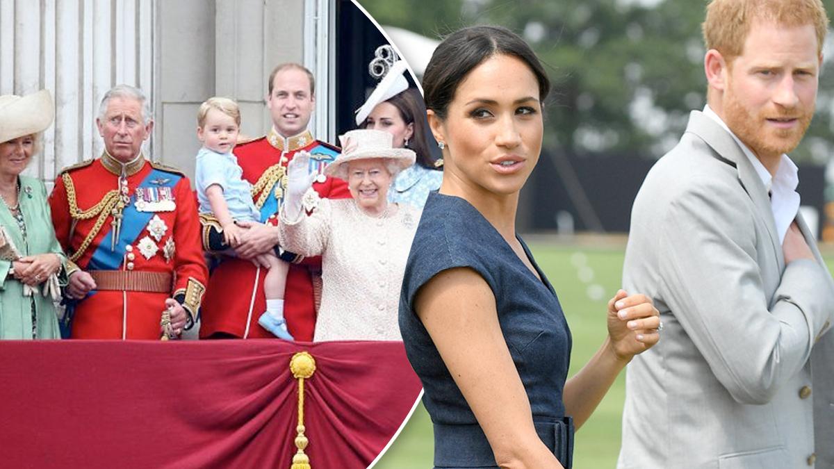 Harry, Meghan, rodzina królewska