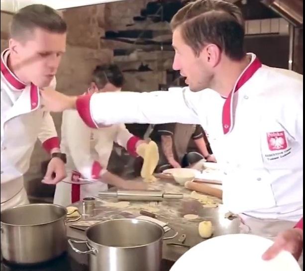 Grzegorz Krychowiak i Wojtek Szczęsny
