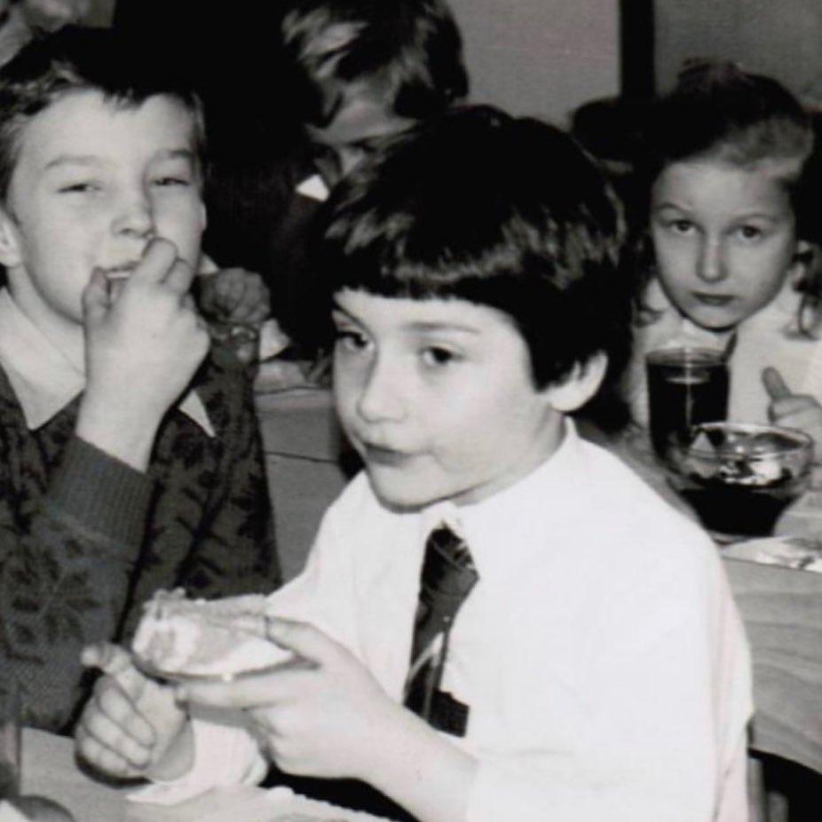 Tomasz Kammel w dzieciństwie