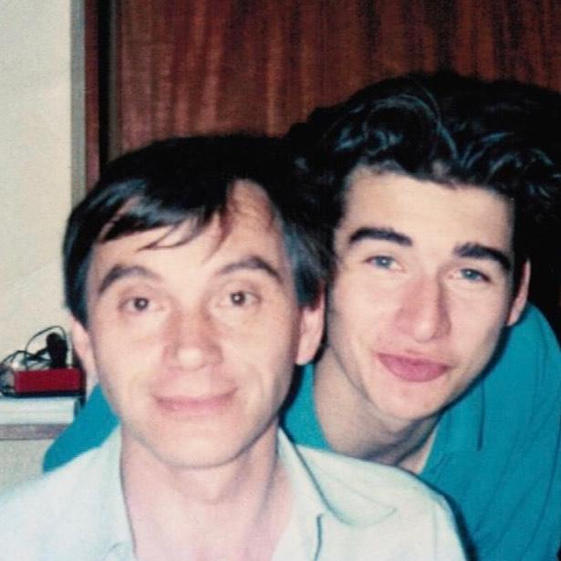 Tomasz Kammel z ojcem